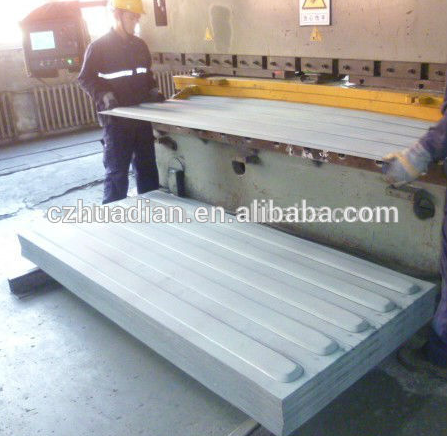 SPA-H/ Q235B material container roof panel