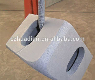 Shipping ISO1161container fitting,container corner casting,container block for sale