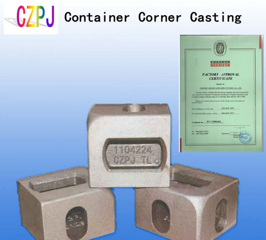 BV ABS Certified ISO 1161 Container Corner Fitting/Casting