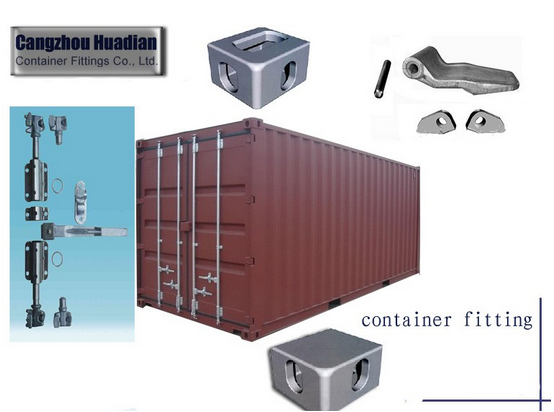 Cast Iron Shipping Container Door Parts Container Corner